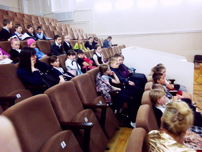 Сутрэча з лаўрэаткай Прэміі Цёткі Надзеяй Ясмінскай
